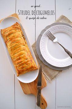 Veggie Recipes, Vegetarian Recipes, Snack Recipes, Cooking Recipes, Healthy Recipes, Strudel, Finger Food Appetizers, Appetizer Recipes, Quiches