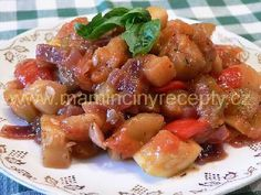Ratatouille Ratatouille, Fruit Salad, Potato Salad, Pork, Potatoes, Sweet, Ethnic Recipes, Kale Stir Fry, Candy