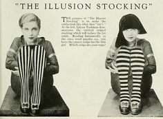 """""""Which stripe fits your type?"""" lol This model/actress Lilyan Tashman had a very interesting short life."""