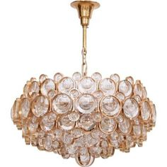 Mid-centry Palwa chandelier