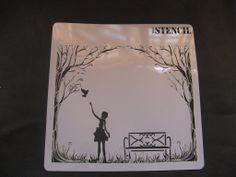 Mis trabajos con stencils para bricolaje, manualidades y decoración | Hacer bricolaje es facilisimo.com