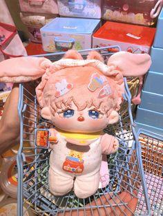 Kawaii Diy, Kawaii Plush, Cute Plush, Cute Fantasy Creatures, Plushie Patterns, Pink Animals, Anime Toys, Anime Figurines, Pink Themes
