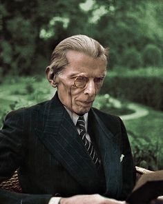 Muhammad Ali Jinnah colour