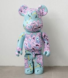 Custom-Bearbrick (Medicom Toy X Actioncity) by MightYellow | Illustrious World | #Illustriousio