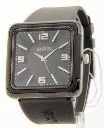 Men's Square Watch Dial Color: Black