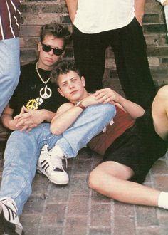 Donnie Wahlberg & Joey McIntyre <3