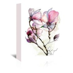 Americanflat Magnoila 3 by Claudia Liebenberg Painting Print on Wrapped Canvas Size: