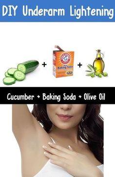 DIY Under Arm Lightening #naturalskinbleaching #bleachingskin #skinbrightening…