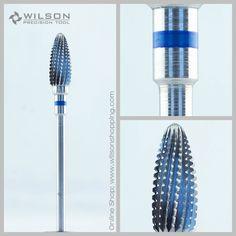 5001206 Carbide Dental Lab HP Burs - Straight Edge with Spiral Cut