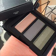 ⚡️🗣HP Best in Makeup 5/4/16⚡️ NARS eyeshadow trio Brand new in box. NARS Eyeshadow trio in Delphes. Pet free smoke free home. NARS Makeup Eyeshadow