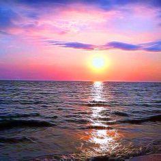 Oak Island NC sunset