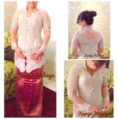Kanye Kebaya Kebaya Simple, Lace Wedding, Wedding Dresses, Fashion, Bride Dresses, Moda, Bridal Gowns, Wedding Dressses, La Mode
