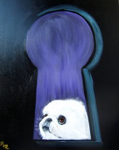 Hey, I found this really awesome Etsy listing at https://www.etsy.com/listing/121717539/pekingese-art-print-of-an-original-oil