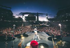 Guns N' Roses performed Tuesday in front of adoring fans at Gillette Stadium in Foxborough.