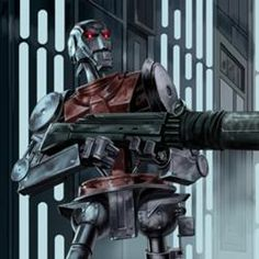 Tao-Ni Security Elite Protector used by .part of the droid army Rpg Star Wars, Star Wars Droids, Star Wars Concept Art, Star Wars Fan Art, Cyberpunk, Edge Of The Empire, Starwars, Star Wars Characters Pictures, Imperial Assault