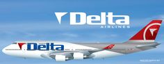 Delta Air Lines B747