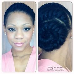 protective hairstyles   Found on bglhgallery.com