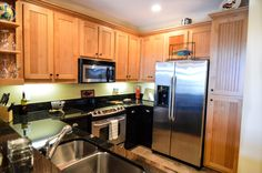 In the kitchen you will have light wooded flooring, stainless steel fridge/freezeer, new and modern kitchen and surfaces, built in microwace and plenty of storage! For more info please contact Rick Andrews 706-970-7120 or email info@bestmountaindeals.com
