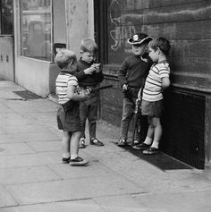 Children play in the street with toy guns 1963 | Museum of London