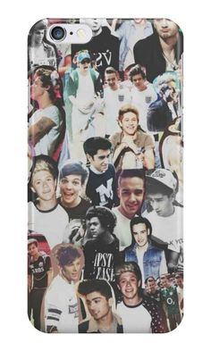 A One Direction collage phone case.