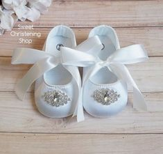 21 Best Our Sweet Baby Girl Christening Shoes Images In 2019