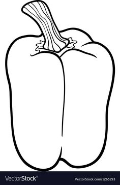 Vegetable Salad Coloring Pages Beautiful Pepper Ve Able Cartoon for Coloring Book