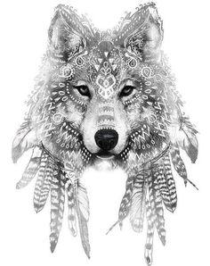 [ 45 idées de tatouage de loup 45 tattoo ideas of wolf tattoo ideas Hawaiianisches Tattoo, Tatoo Art, Mandala Tattoo, Body Art Tattoos, Tattoo Drawings, New Tattoos, Mehndi Tattoo, Skull Tattoos, Sleeve Tattoos