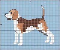 Interesting Beagle Friendly Loyal And Loving Ideas. Glorious Beagle Friendly Loyal And Loving Ideas. Cross Stitching, Cross Stitch Embroidery, Embroidery Patterns, Knitting Charts, Knitting Patterns, Cross Stitch Charts, Cross Stitch Patterns, Dog Crafts, Beagle Dog