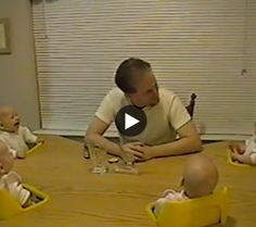 Laughing Quadruplets #mommytube #funny #babies