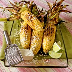 Market Matters- Sweet on Corn: Grilled Corn with Feta & Lime - SippitySup