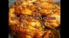 chinese food recipes TASTY GARLIC CHICKEN WINGS   easy food recipes for ...