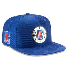0071e90e591 Youth LA Clippers New Era Royal 2017 NBA Draft Official On Court Collection  9FIFTY Snapback Hat
