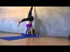 Yoga Tips with Christina Sell - How not to face plant in pincha mayurasana - forearm balance