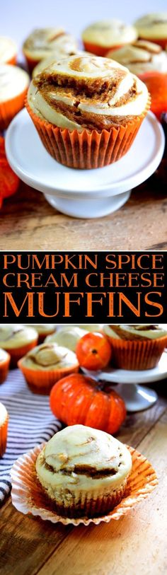 Kick Off Your Thanksgiving with a Delicious Morning Snack: Pumpkin Spice Cream Cheese Muffins!