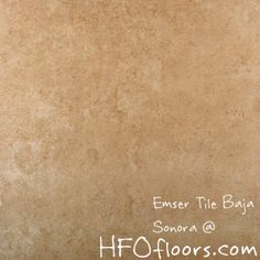 Emser Tile Baja, Sonora glazed ceramic tile. Available at HFOfloors.com.