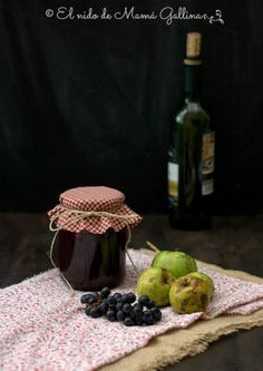 Mermelada de vino tinto