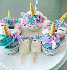 "44 Likes, 1 Comments - Perfect Magic World (@perfectmagicworld) on Instagram: ""#unicorn #unicornio #unicorndonut #unicornice #unicorncupcake #cupcake #picole #cupcakeunicornio"""