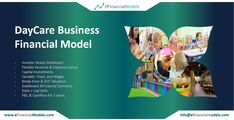 eFinancialModels offers a wide range of industry specific excel financial models, projections and forecasting model templates from expert financial modeling freelancers. Building A Business Plan, Daycare Business Plan, Business Planning, Financial Modeling, Financial Planning, Childcare, Flexibility, Investing, Templates