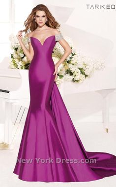 Tarik Ediz 92339 Dress - NewYorkDress.com