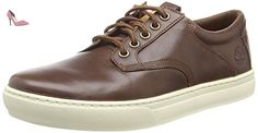 Timberland Leather Oxford, Sneakers basses homme, Marron - Marron foncé, 41 - Chaussures timberland (*Partner-Link)