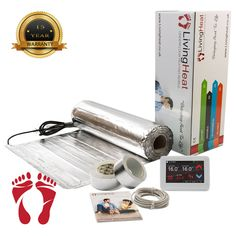 Under Wood Heating, laminate heating the foil heating system is ideal as a primary heat source in most rooms at only thin is ideal for heating Electric Underfloor Heating, Underfloor Heating Systems, Central Heating, Laminate Flooring, Insulation, Service Design, Things That Bounce, Wood Floor, Radiators