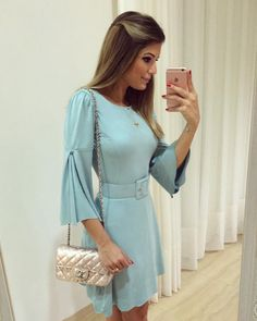 Simple Dresses, Pretty Dresses, Casual Dresses, Short Dresses, Dresses For Work, Latest Outfits, Fashion Outfits, Smart Casual Wear, Western Dresses