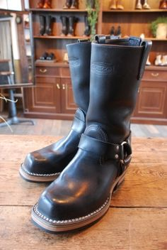 WESCO Harness boots Vibram430 | BRASS BLOG