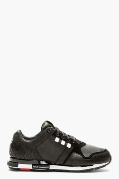 adidas Y-3 Black Low-Top Vern Sneakers