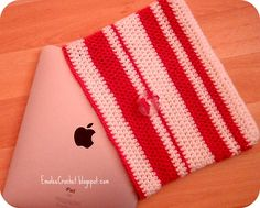 Crochet ... ipad cover: Very simple pattern and instructions!