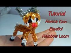 ♥ Renna Con Elastici RAINBOW LOOM Tutorial!♥ - YouTube