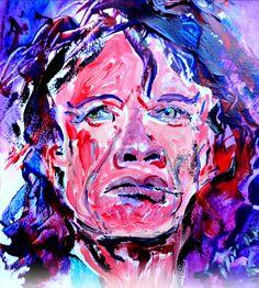 Acrylic by Alan A Rawlinson