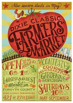 Farmer's Market, cool graphics