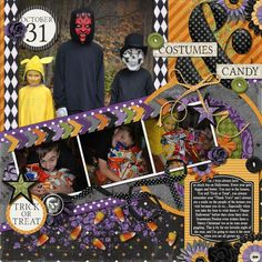Kit used: Fright Night By: Melissa Bennett Designs.  For full details of products used, please visit the link :)