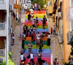 Turkish Retiree Painted Street To Make People Smile | For Good News